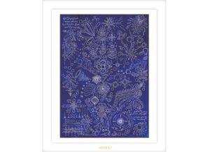 青の空間への感謝:ヒーリングアート:HIDEKIのアート