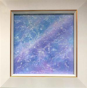 ヒーリングパステルアート獅子座の画像