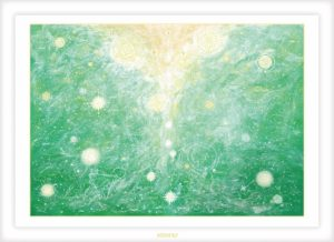 Healing eye-HIDEKIヒーリングアート・スピリチュアルアート